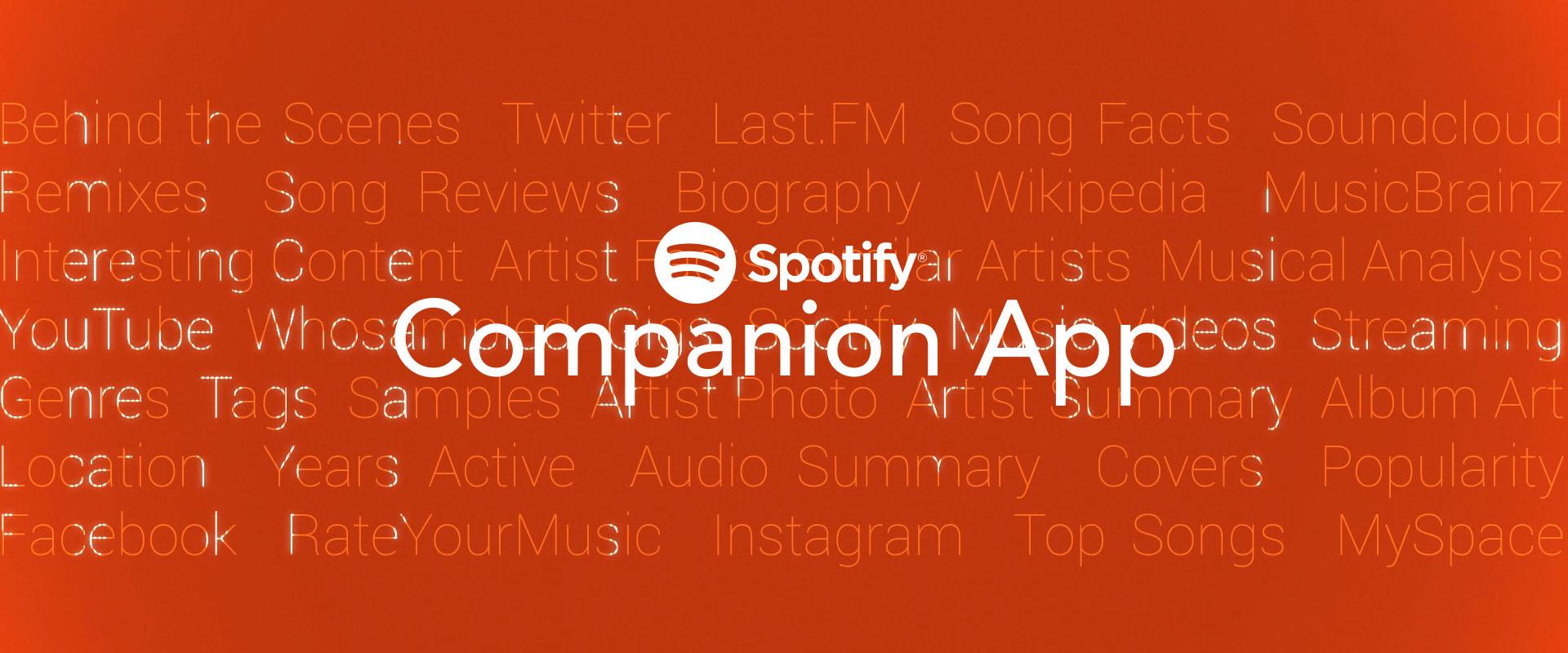 spotify companion app droptune thumbnail