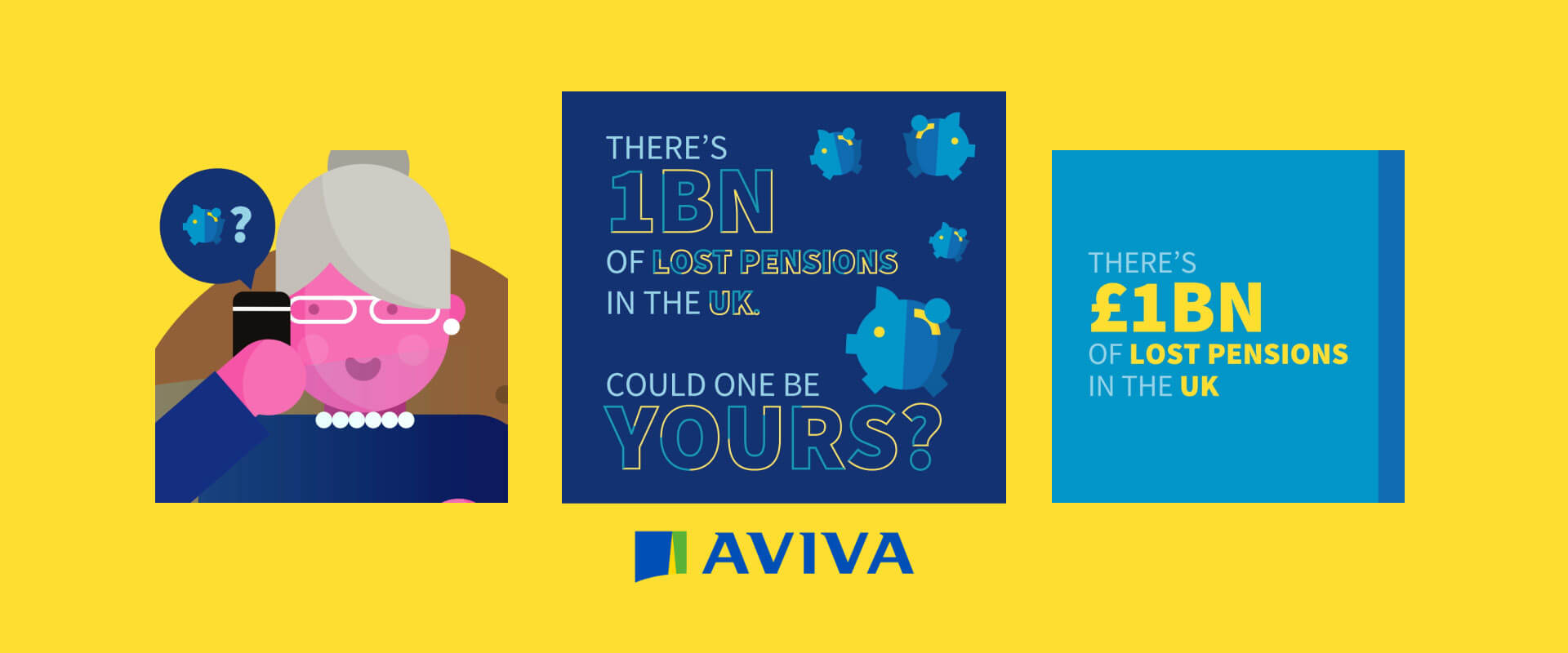 aviva social media animations