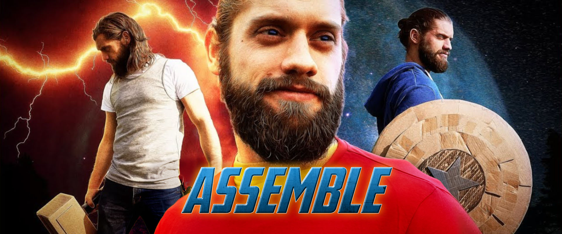 assemble avengers spoof hitfilm thumbnail