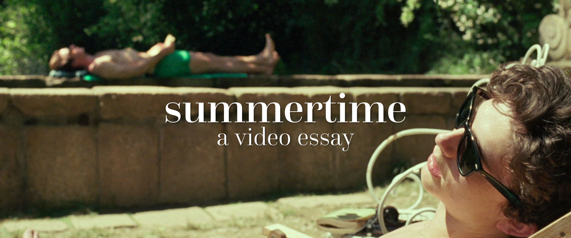 summertime video essay call me by your name the florida project
