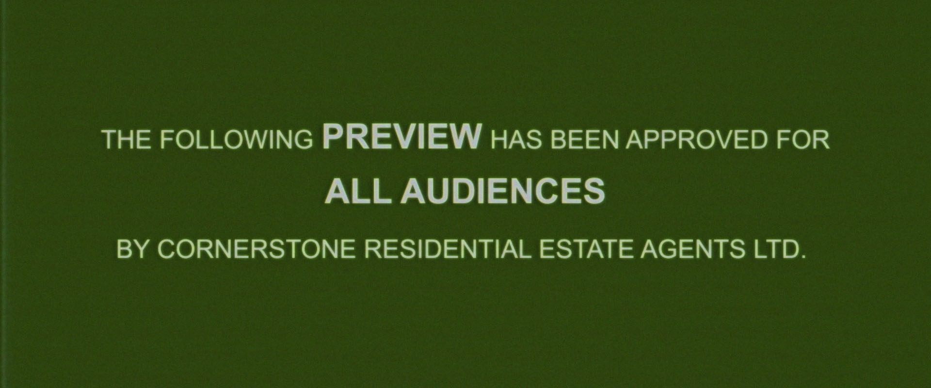 cornerstone residential estate agents brand video parody thumbnail